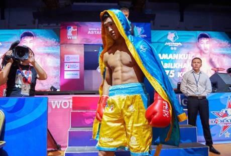 Боксеры «Астана Арланс» разгромили «Чайна Драгонс»