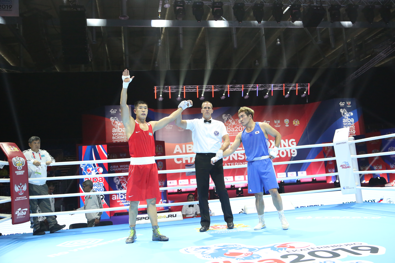 Бекзат Нурдаулетов одержал победу над корейским боксером