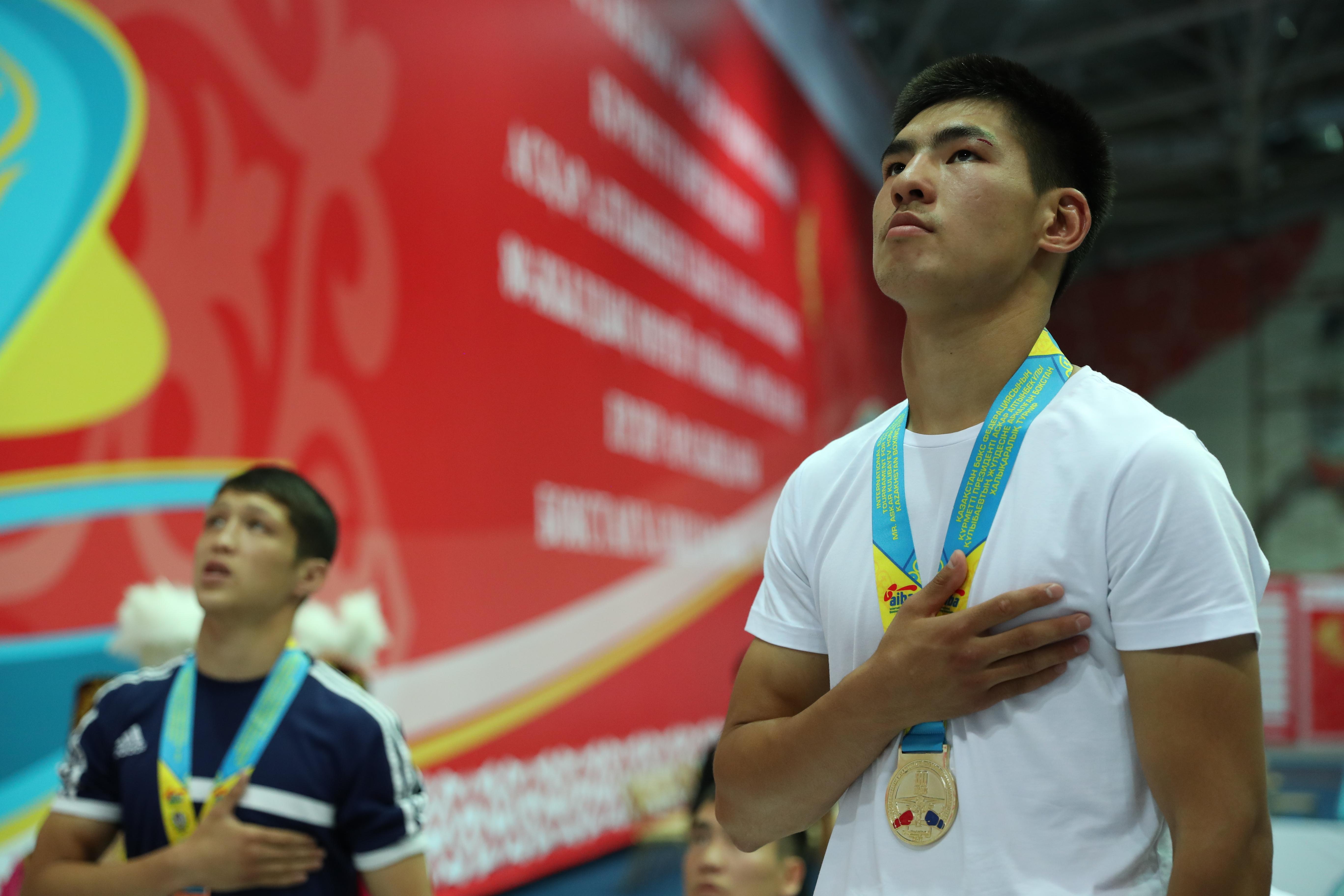 Асқар Құлыбаевтың жүлдесіне арналған бокстан Халықаралық турнир мәресіне жетті